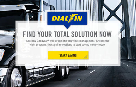 Goodyear Commercial Truck Website