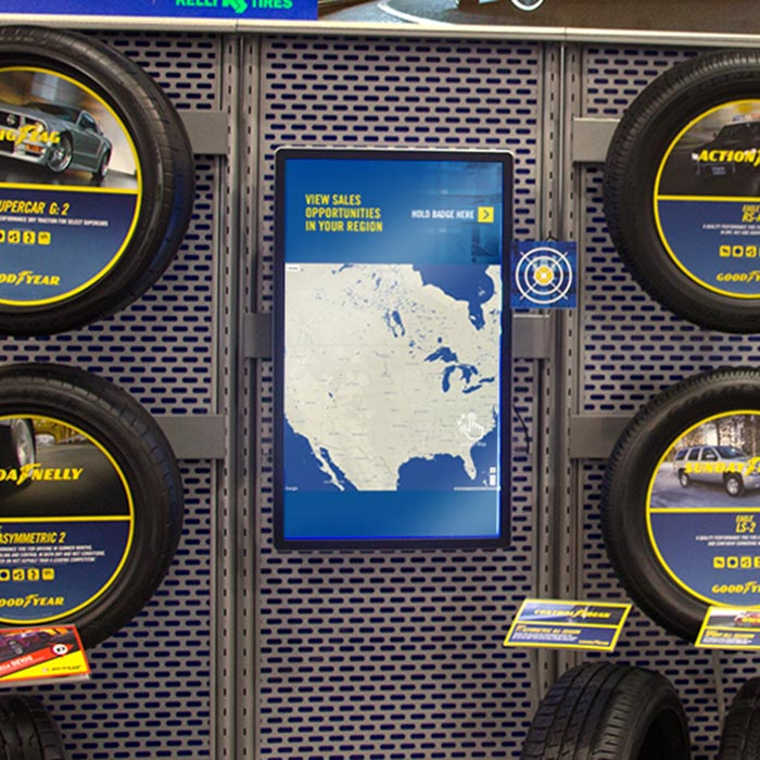 Goodyear Dealer Conference Digital Kiosks