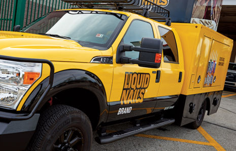 Liquid Nails Ad Campaign and Vehicle Design