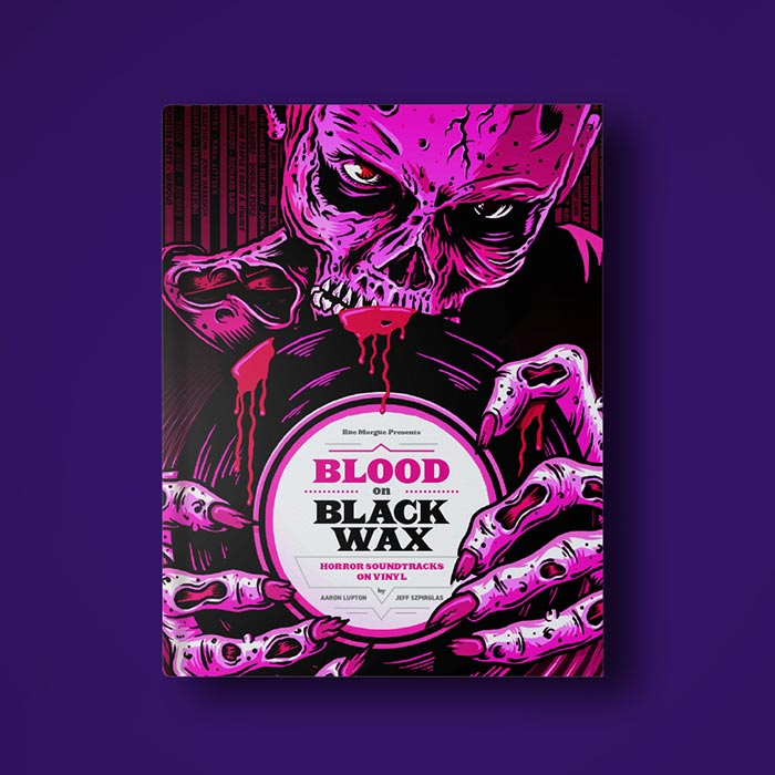 Blood on Black Wax Book Layout