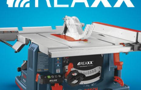 BOSCH REAXX LOGO design