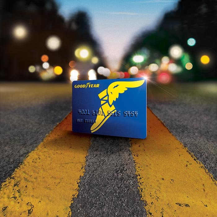 Goodyear Credit Card Ad Campaign and Brand Refresh