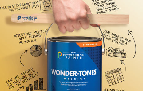 PPG Pittsburgh Paints Ad Campaign